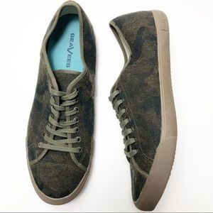 SeaVees Wool Sneaker Camo Army Issue 13